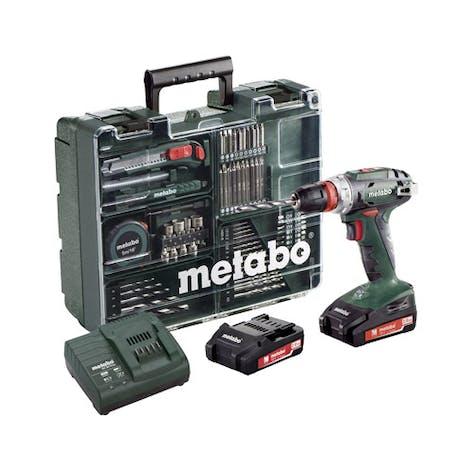 def11d685 Skru-/Bormaskin Metabo BS 18 Q Sett