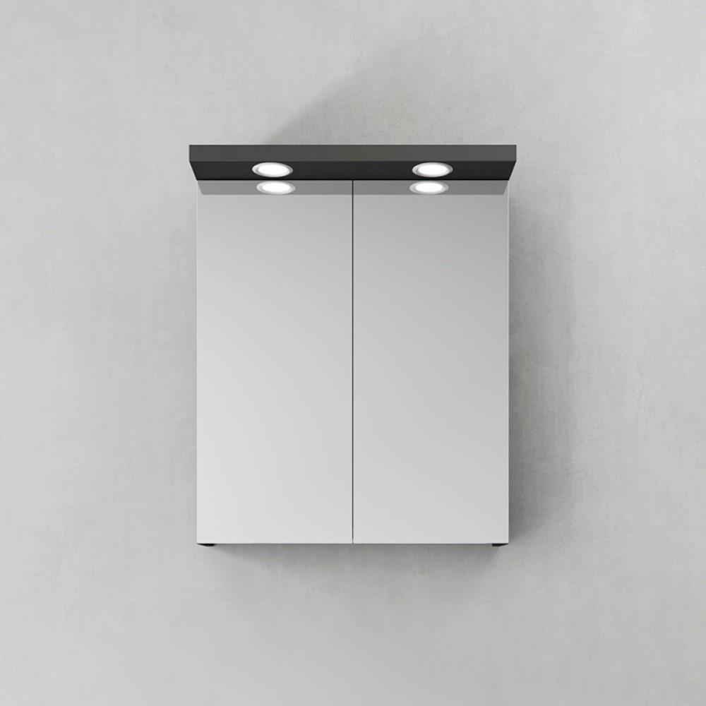 Spegelskåp Hafa Store LED-Spots