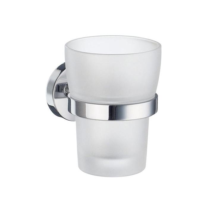 Tandborstglas Smedbo Home HK343 Krom/Frostat Glas