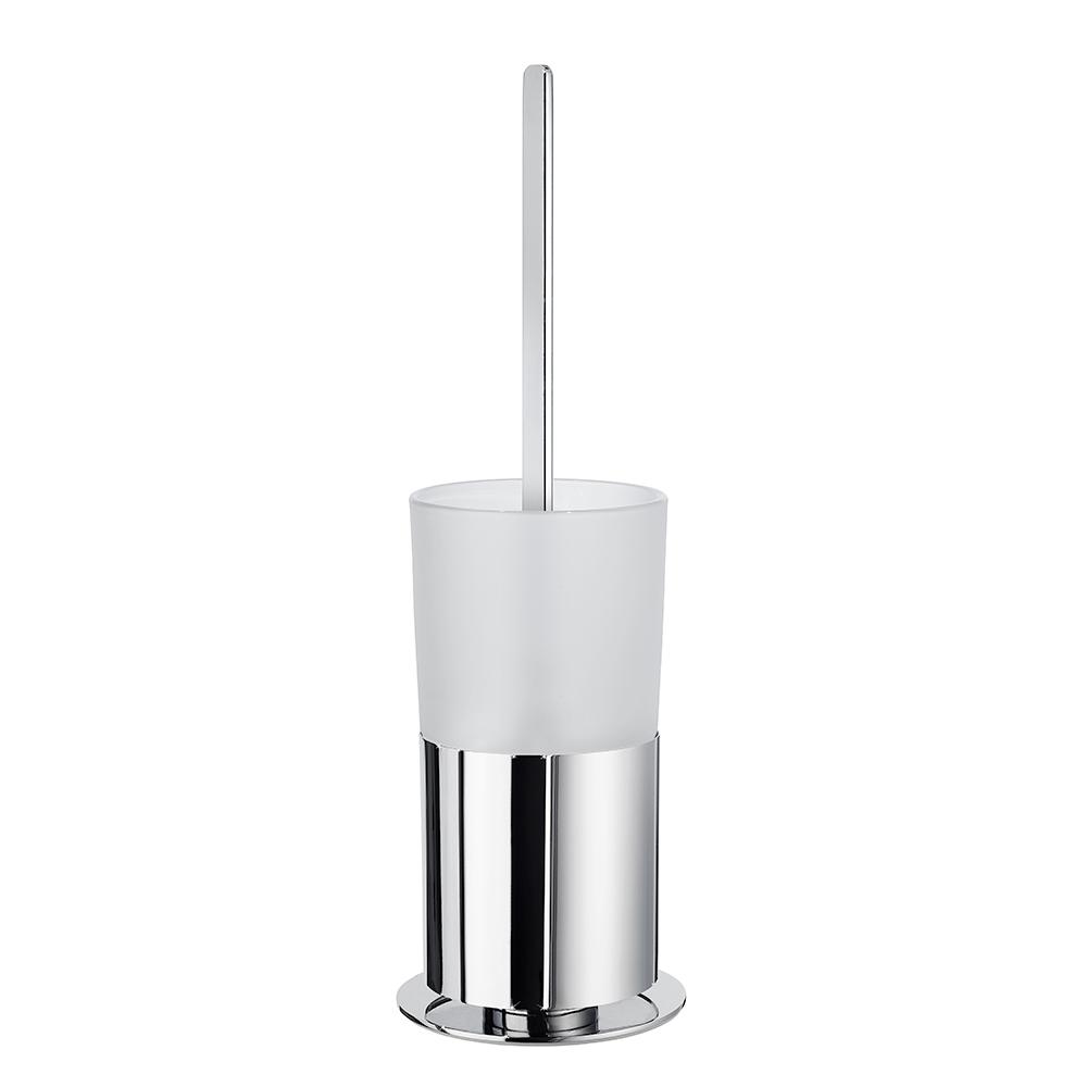 Toalettborste Smedbo Outline FK311 Krom/Frostat Glas