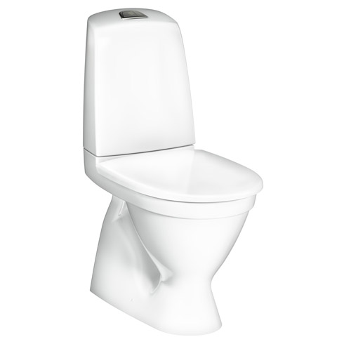 Toalettstol Gustavsberg Nautic 1500 Hygienic Flush för Skruv