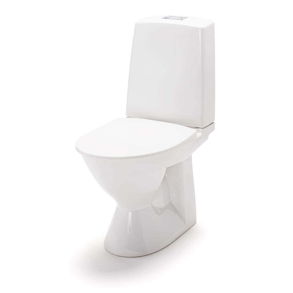 Toalettstol IDO Glow Rimfree 61 Universallås