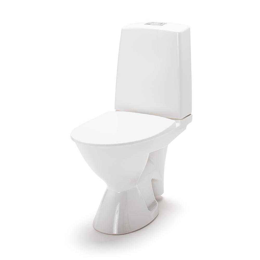 Toalettstol IDO Glow Rimfree 63 för Limning