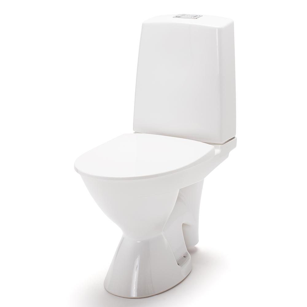 Toalettstol IDO Glow Rimfree 63 Utloppshål
