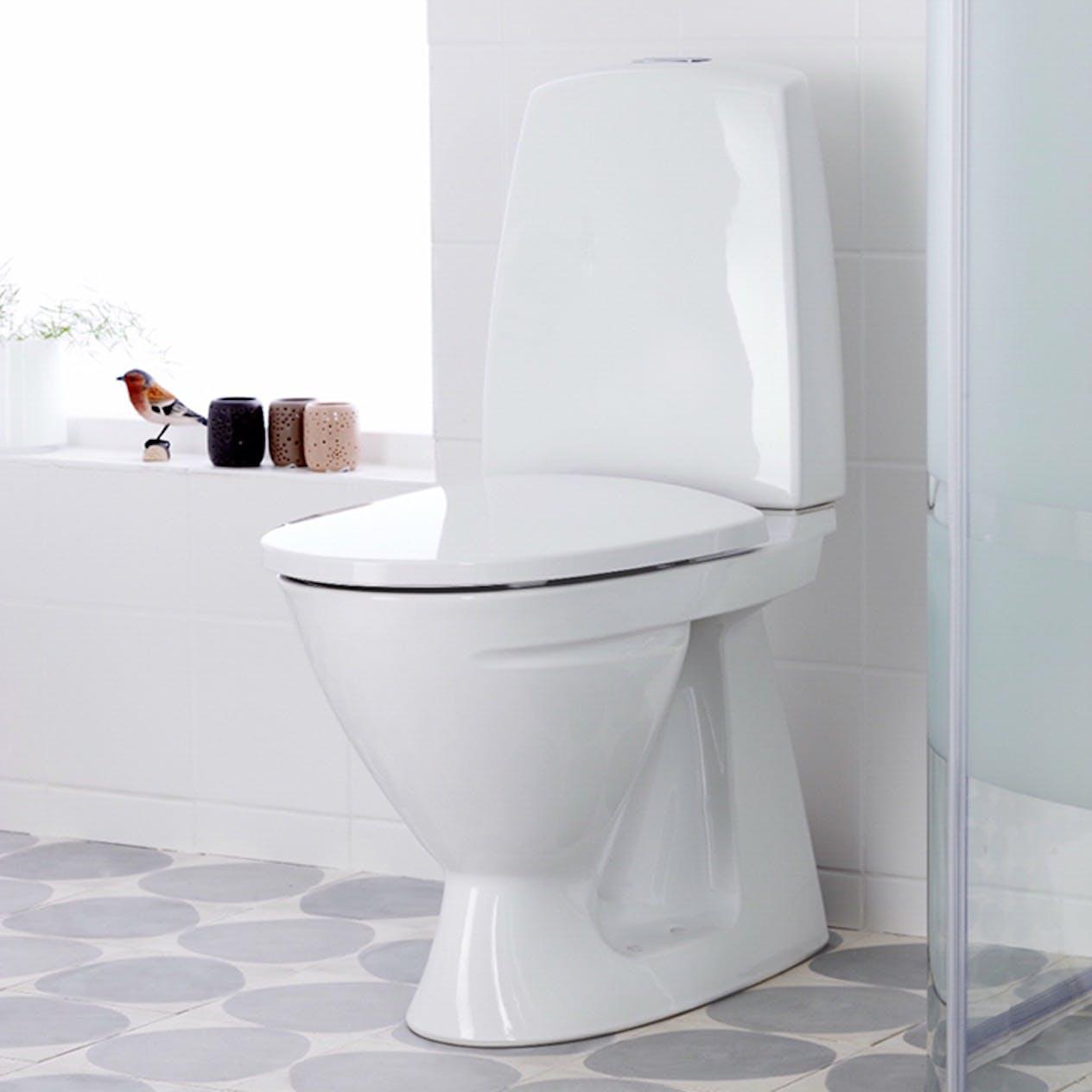 Usædvanlig Toalettstol Ifö Sign 6861 för Limning 686106511010 GD61