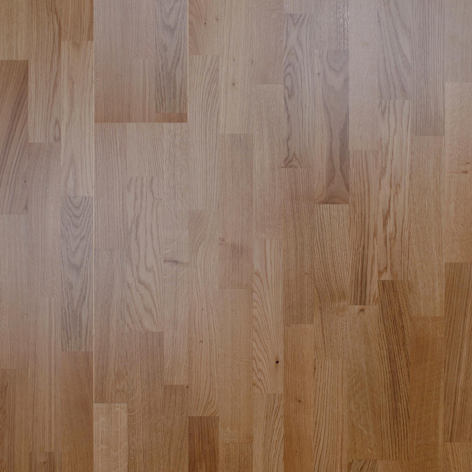 Trägolv Nordic Floor Ek Rustik Sidenmatt 3-stav