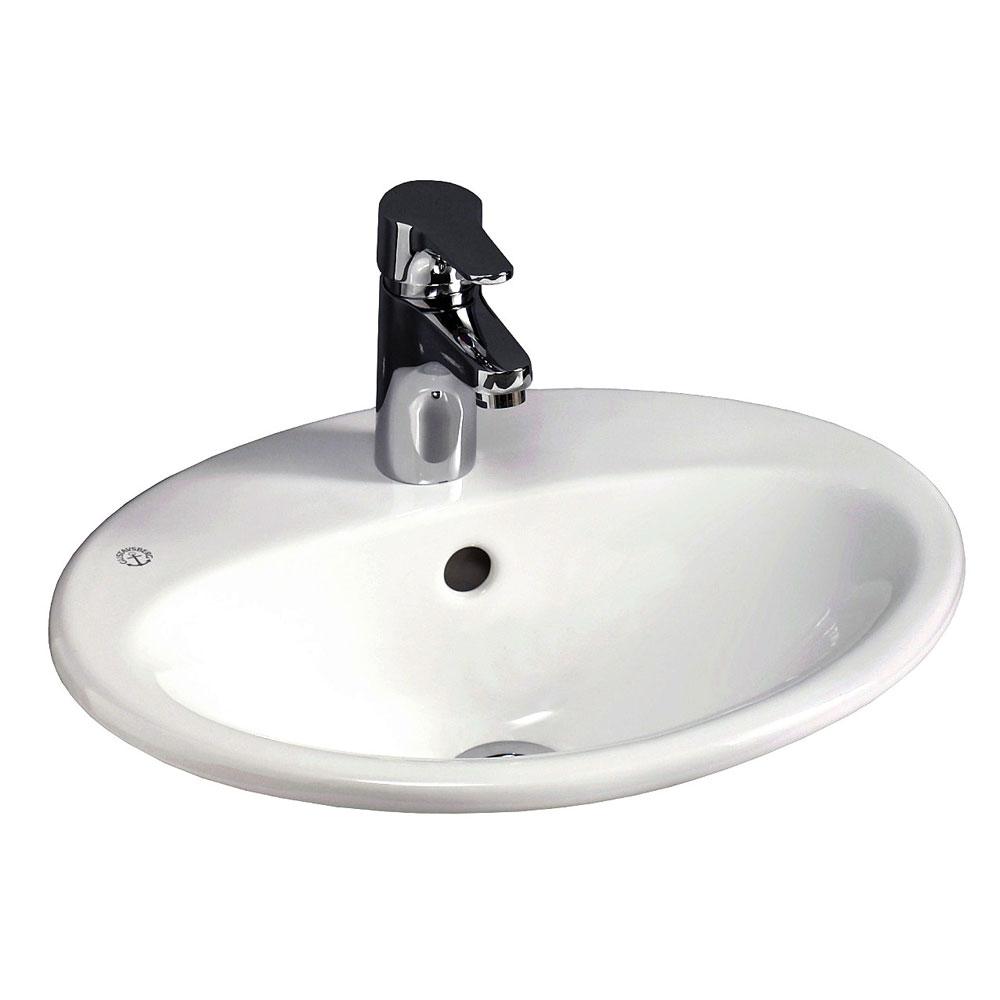 Tvättställ Gustavsberg Nautic 5545 för Inbyggnad