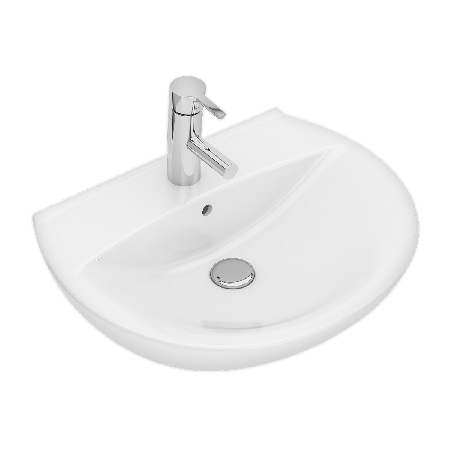 Tvättställ Ifö Spira 15122 57 cm