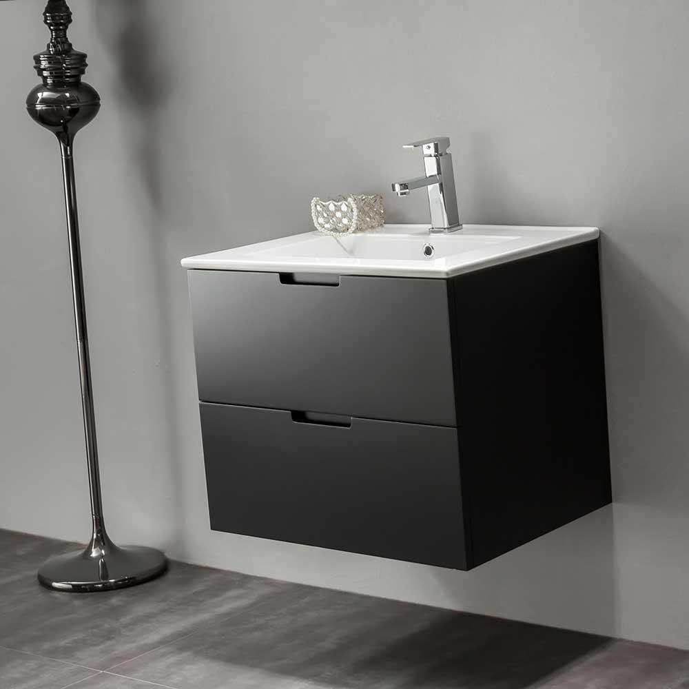 Tvättställskåp Bathlife Glädje Svart