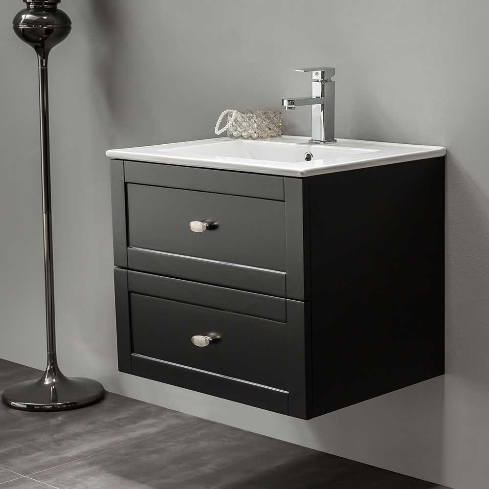 Tvättställskåp Bathlife Salig Svart