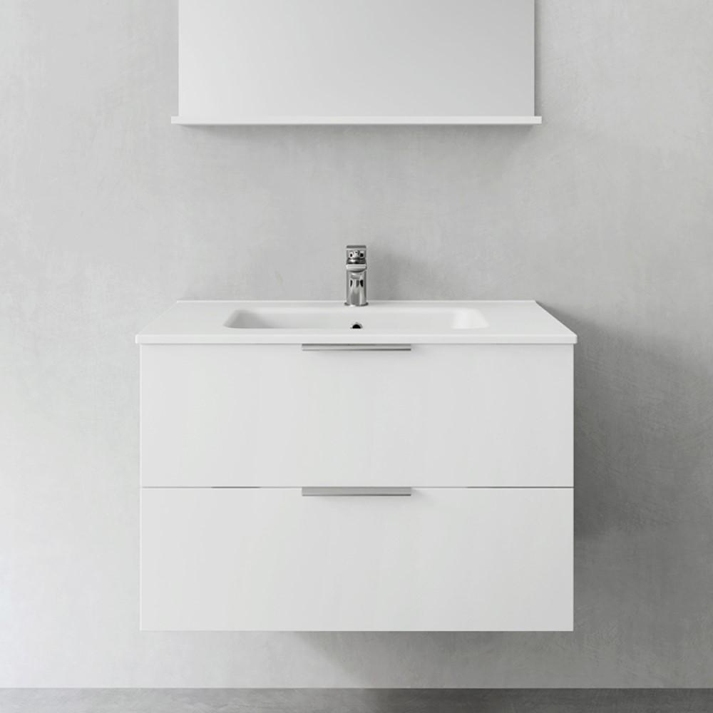 Tvättställsskåp Hafa Compact Shape utan Tvättställ