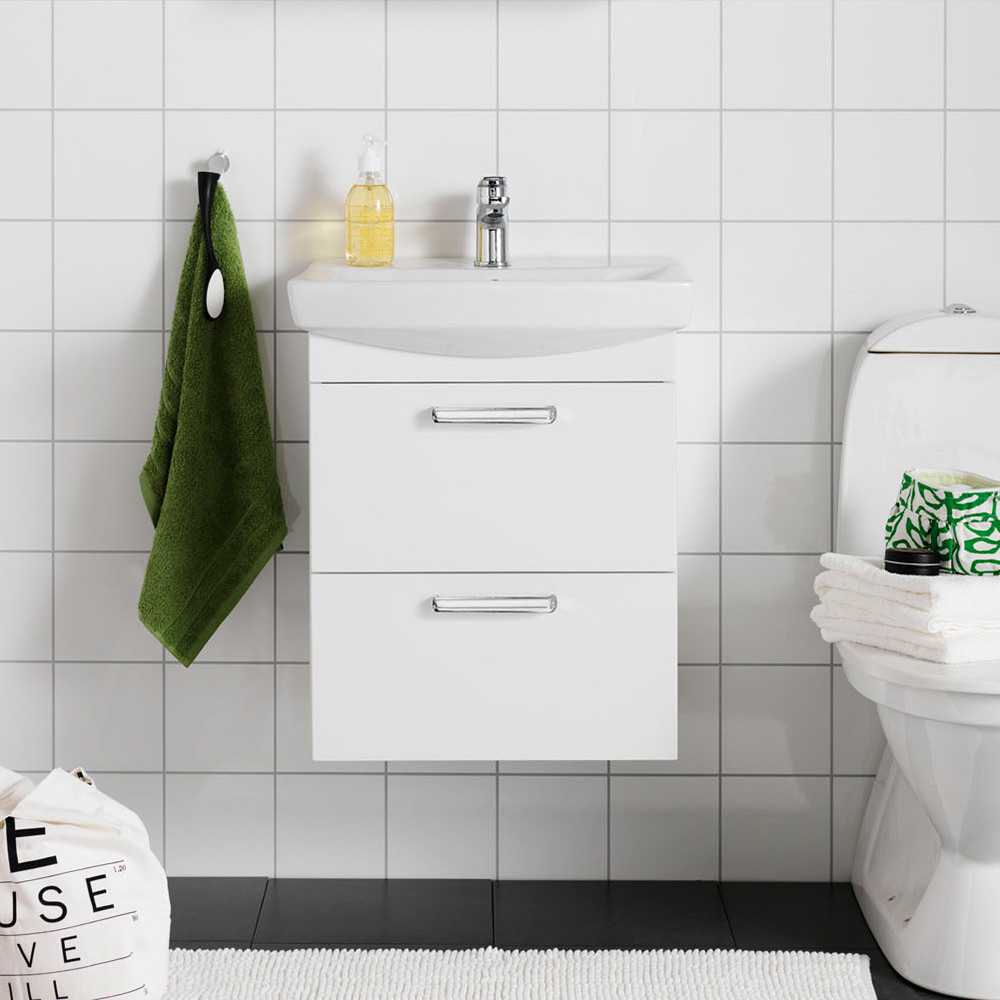 Tvättställsskåp Hafa Life Vit
