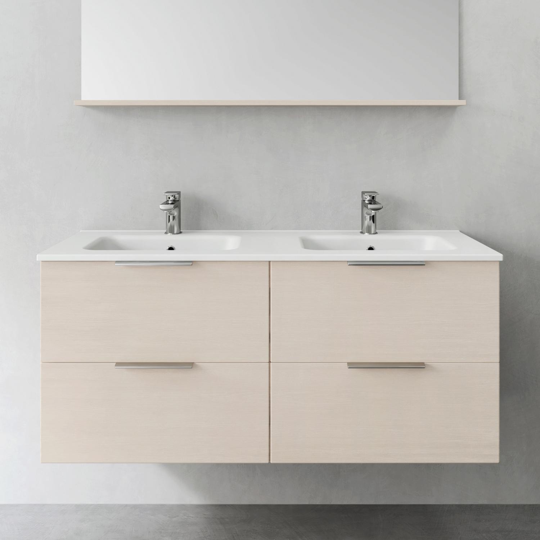 Tvättställsskåp Hafa Shape 1200 Dubbel utan Tvättställ