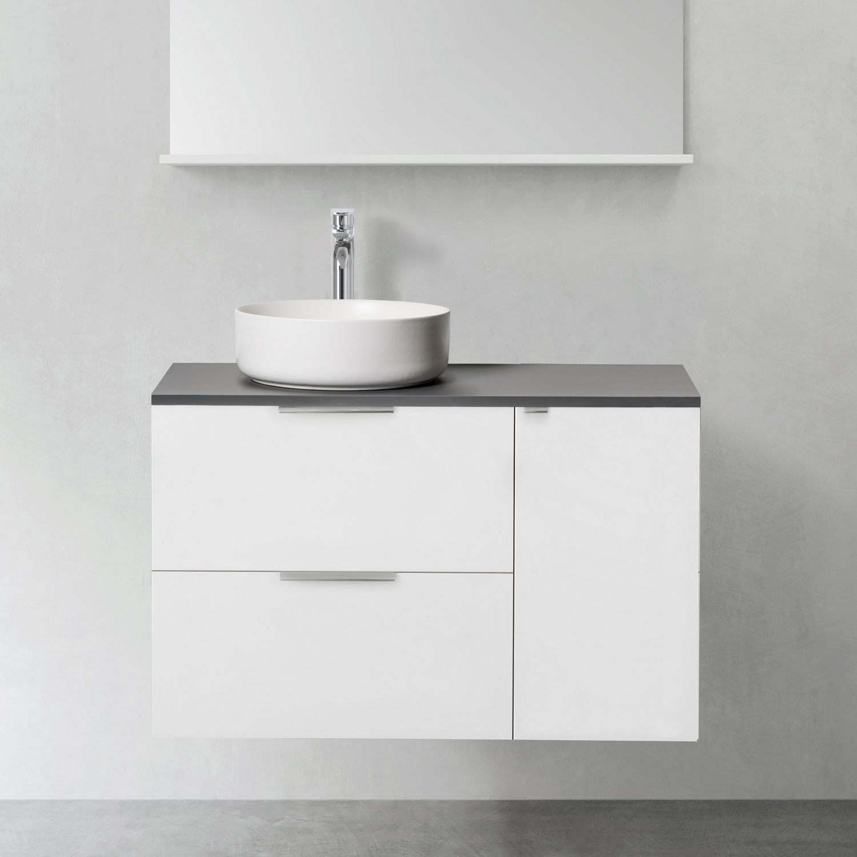Tvättställsskåp Hafa Shape med Sidomodul 300 utan Tvättställ
