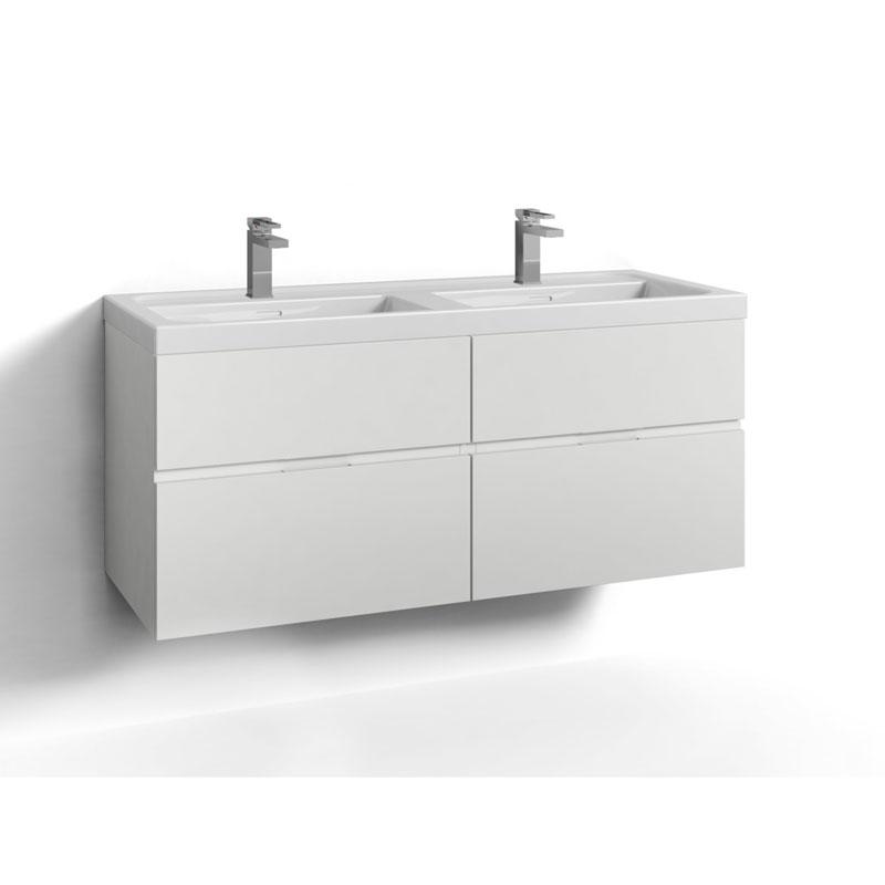 Tvättställsskåp Svedbergs Forma 120 Dubbel