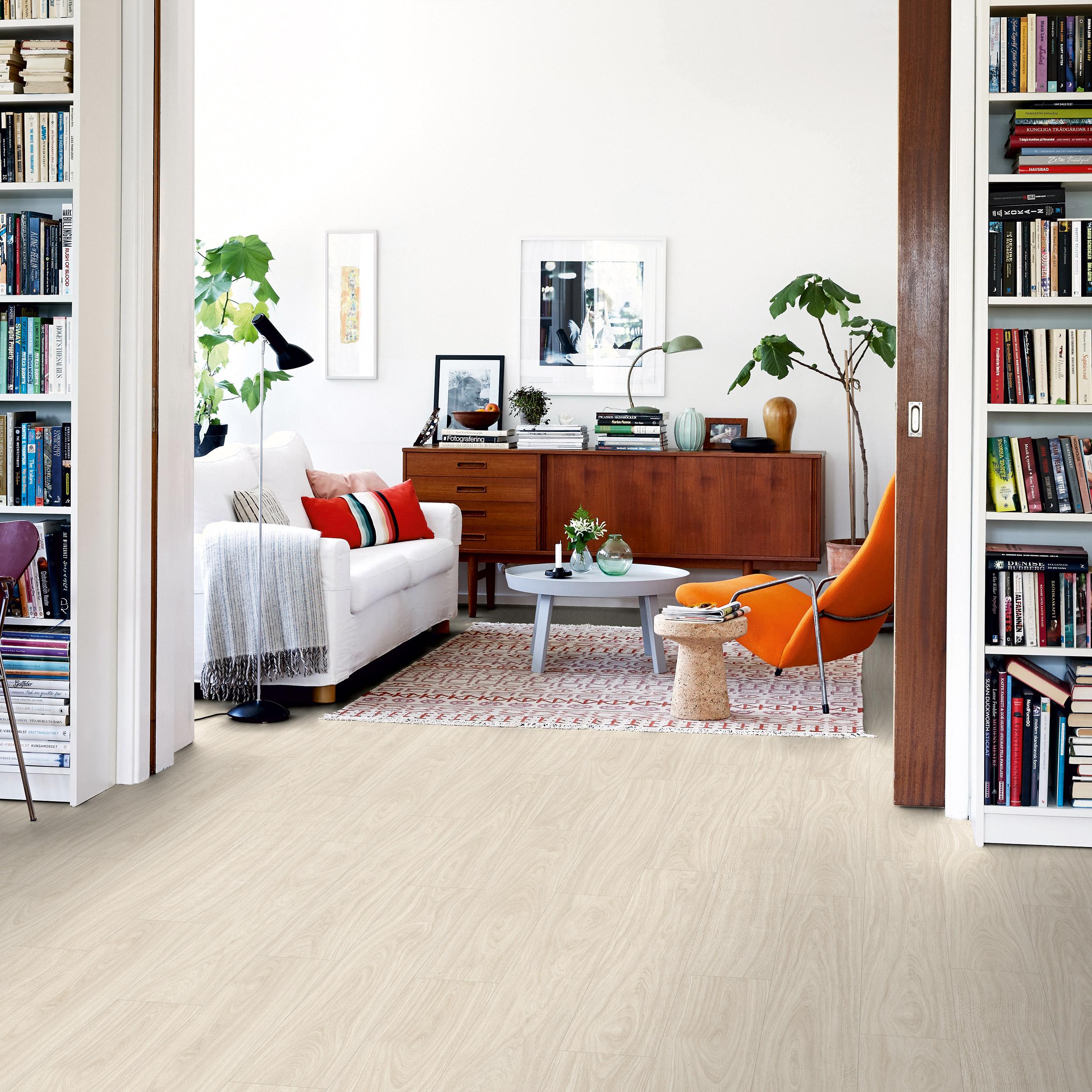 Vinylgolv Pergo Rigid Click Classic Plank Nordic White Oak