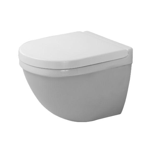 Vägghängd Toalettstol Duravit Starck 3 Compact