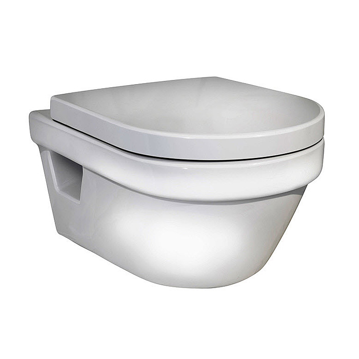 Vägghängd Toalettstol Gustavsberg Hygienic Flush 5G84