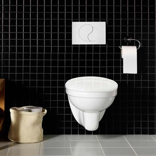 Vägghängd Toalettstol Hafa Wall Komplett