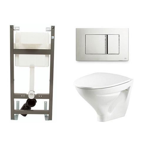 Vägghängd Toalettstol Ifö Sign 6875 med Ifö Sign Gen 2x Komplett