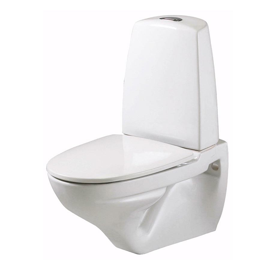 Vägghängd Toalettstol Ifö Sign 6894 ROT