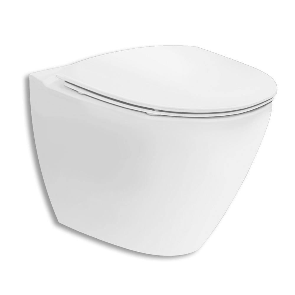 Vägghängd Toalettstol Ifö Spira Art 6245 Rimfree