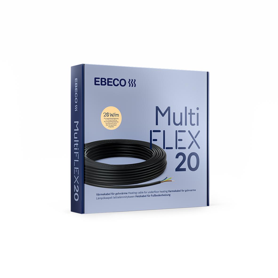 Värmekabel Ebeco Multiflex 20