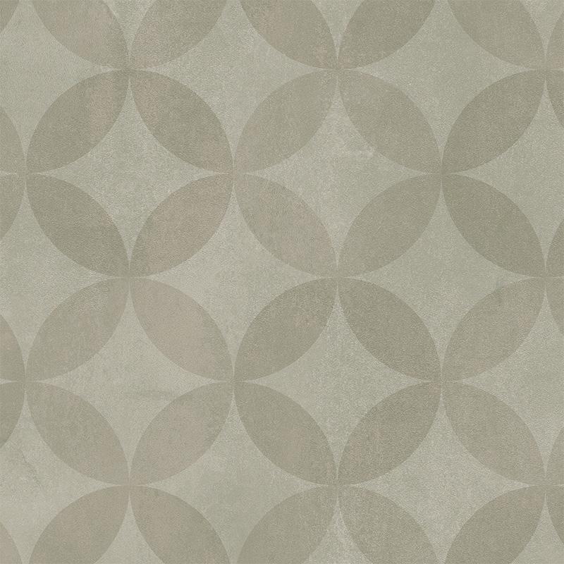 Våtrumsmatta Tarkett Aquarelle Circle Flower Grey