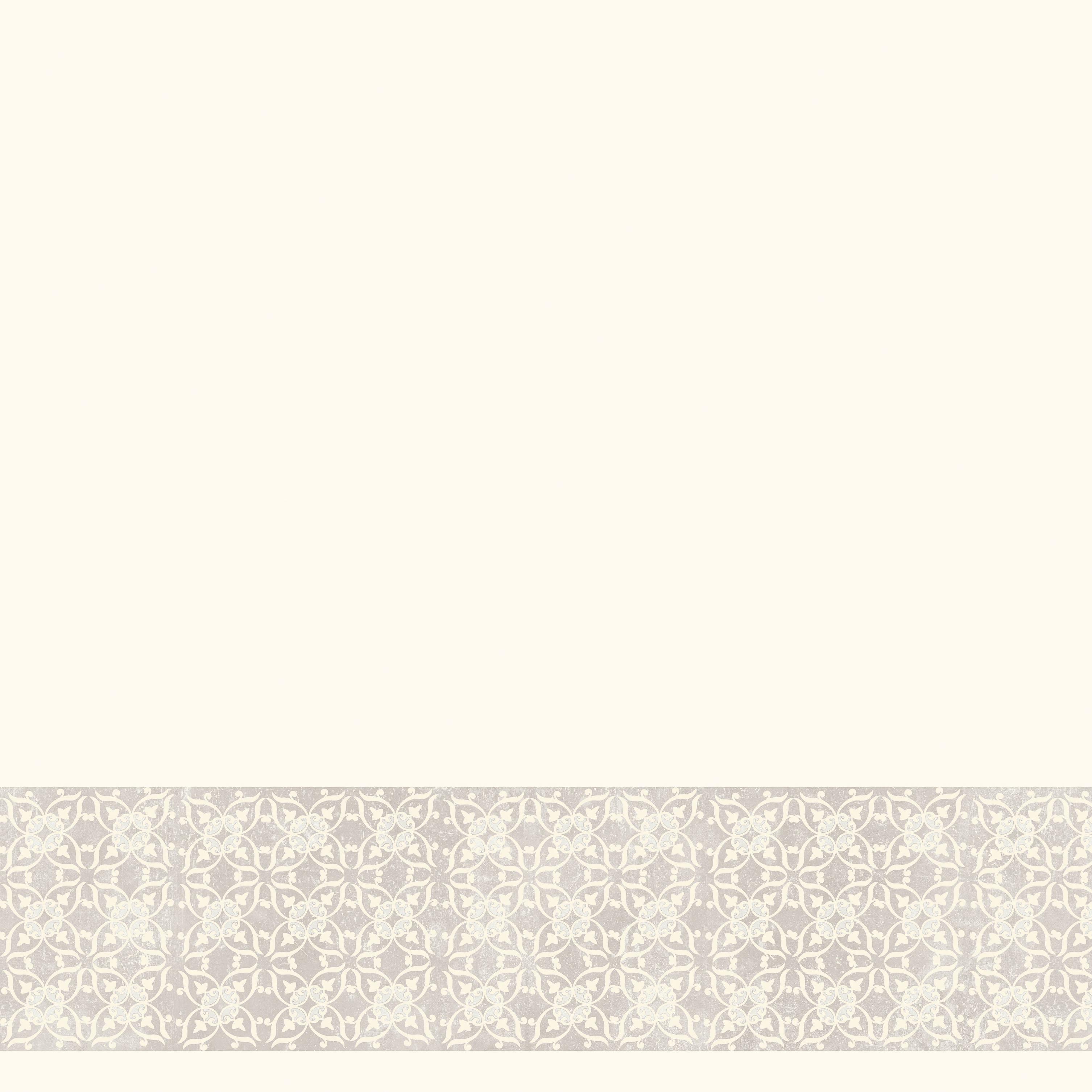 Våtrumsvägg Tarkett Aquarelle Bård Decor Ornament Grey