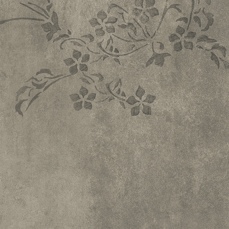 Våtrumsvägg Tarkett Aquarelle Concrete Flower Grey