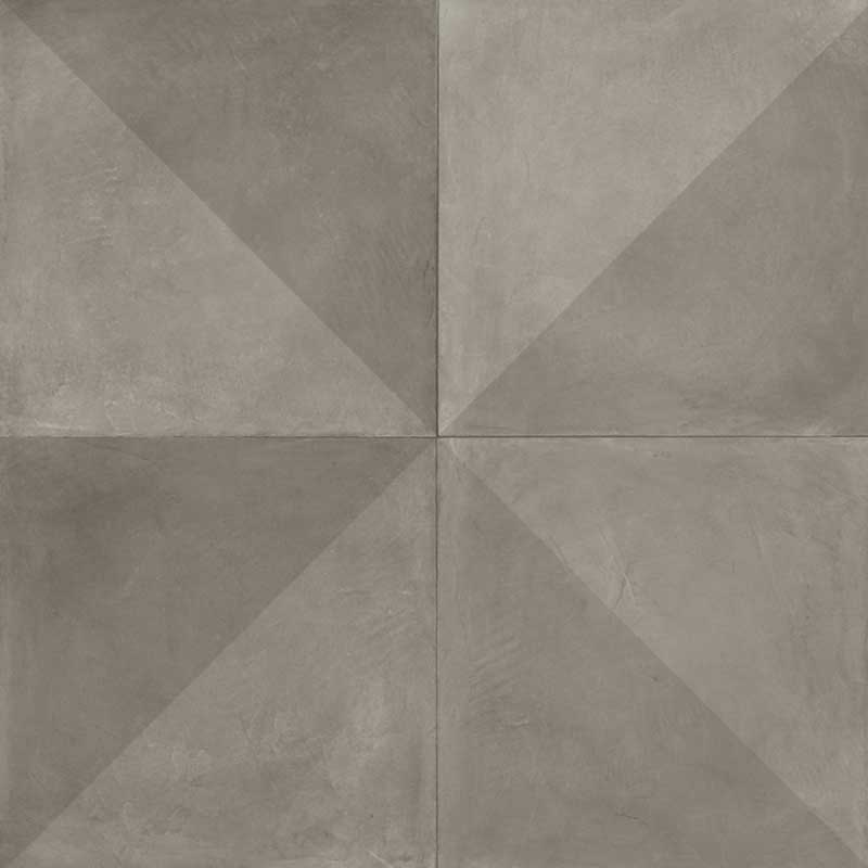 Vinylgolv Tarkett Extra Tile Diagonal Dark Grey