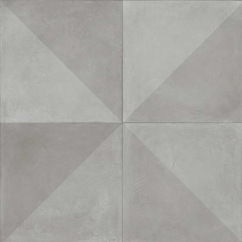 Vinylgolv Tarkett Extra Tile Diagonal Light Grey