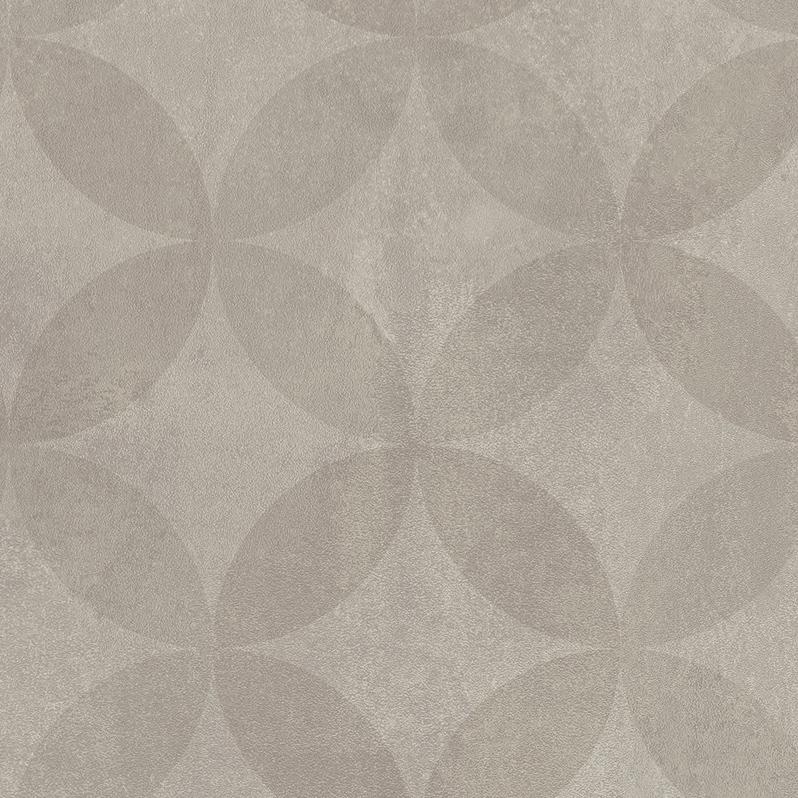 Vinylgolv Tarkett Trend 240 Circle Flower Light Grey