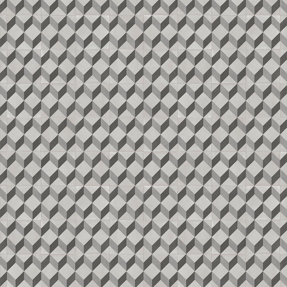 Vinylgolv Trend Tarkett Cube Tile Black