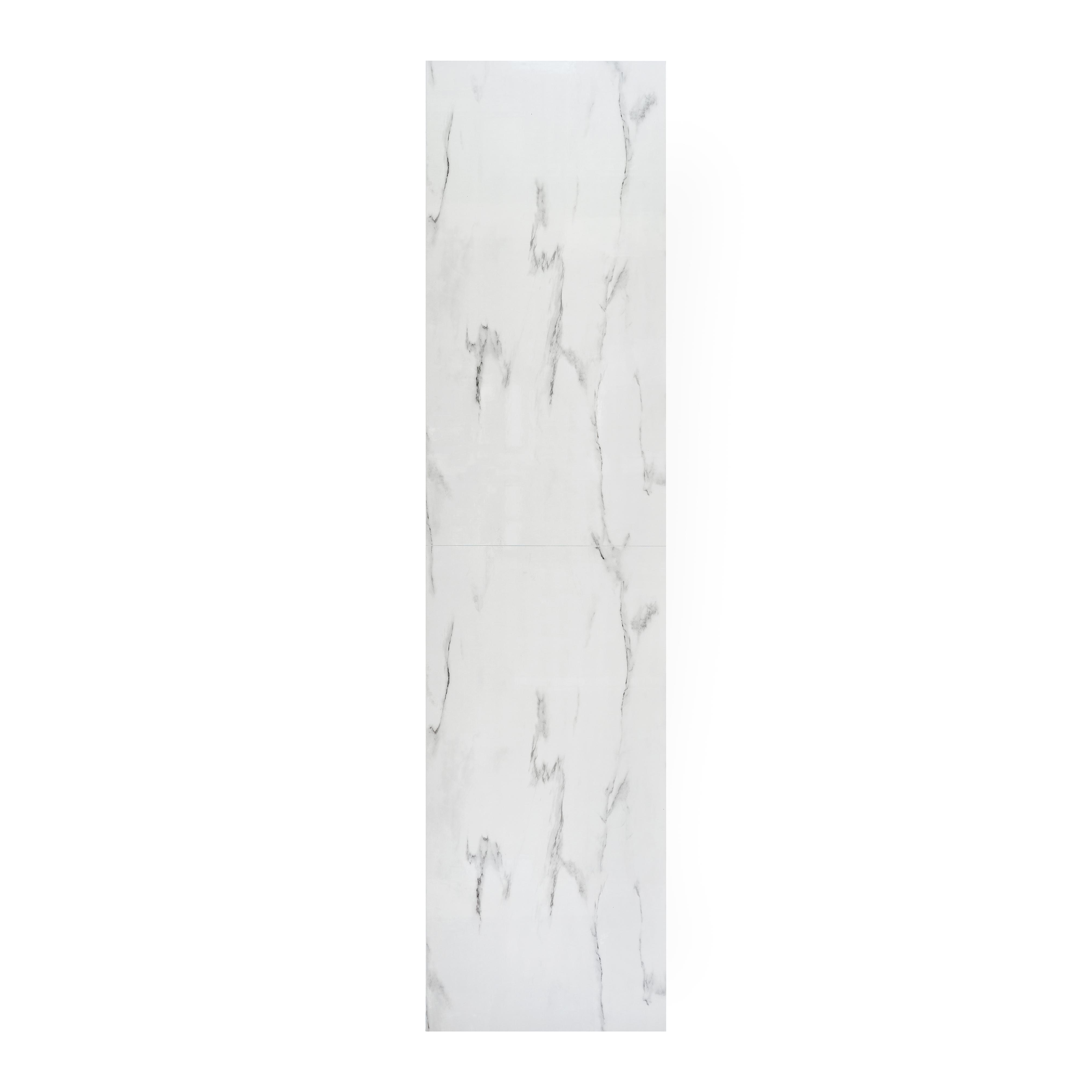 Våtrumsskiva BerryAlloc Wall & Water Vit Marmor S 60x120