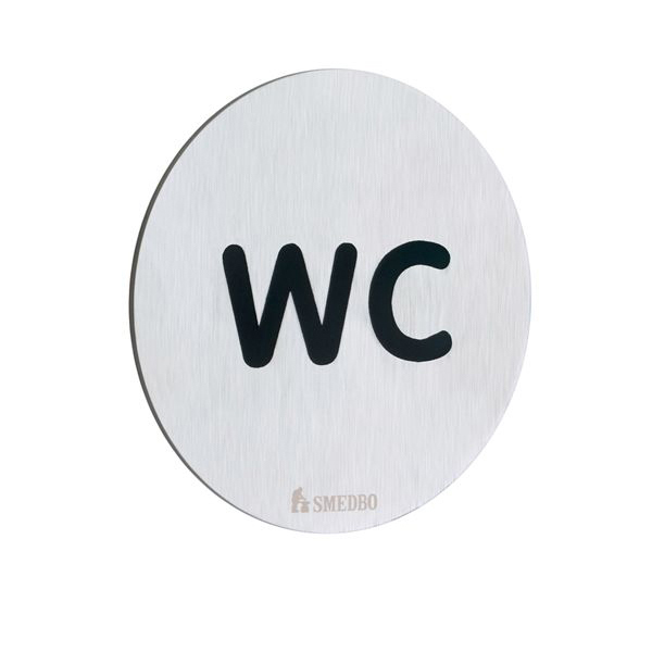 WC-Skylt Smedbo Xtra FS958