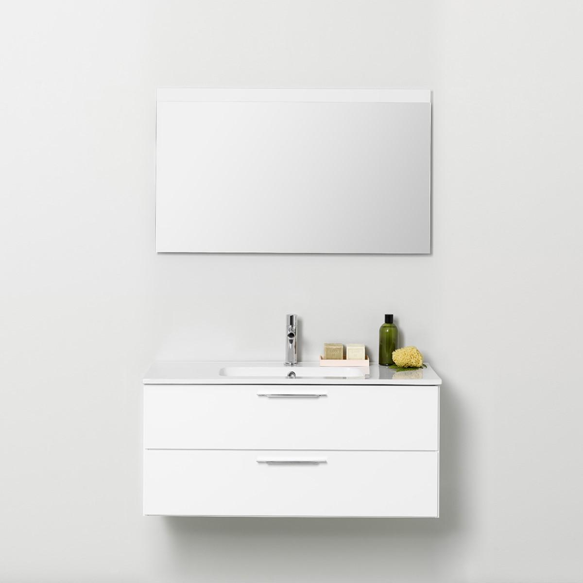 Möbelpaket Westerbergs Afton 1000 med Spegel Vit