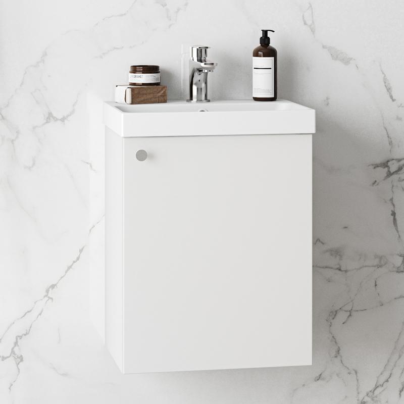Tvättställsskåp Westerbergs Hed 420 Vit